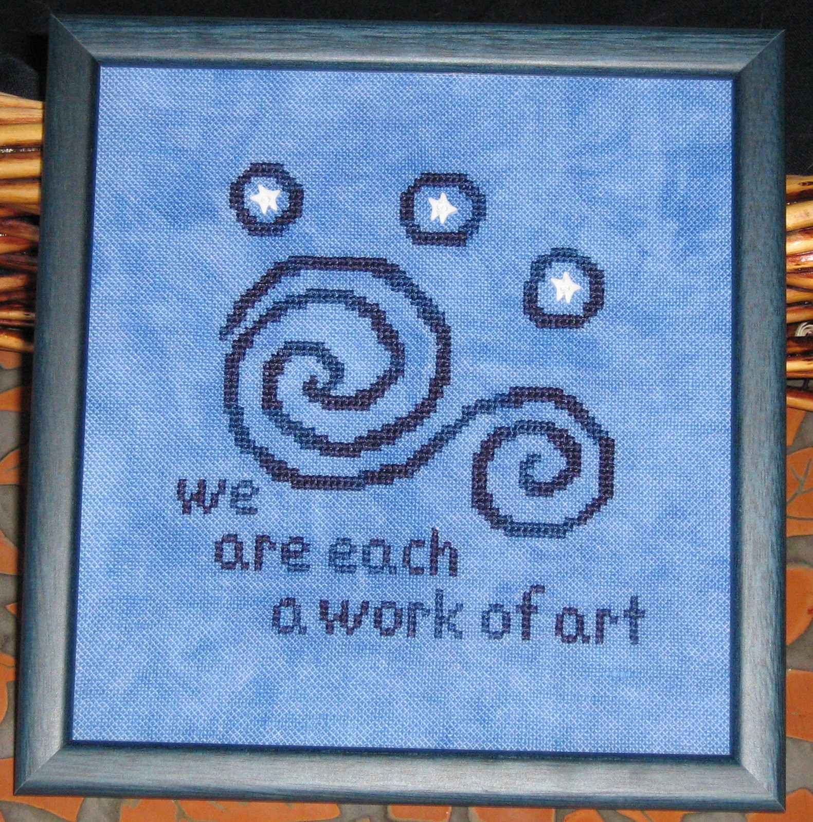 Moonflower Designs - We are Each a Work of Art. Picture This Plus Stellar.